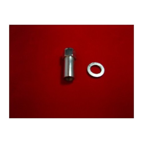 12mm 1.5 Revolution nut with Flat Washer