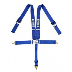 "TRS 5 Point 3"" Nascar Harness Blue"
