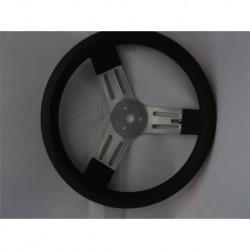 """15"""" Budget Steering Wheel Black"""