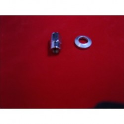"3/8"" UNF Wolfrace Style Sleeve Nut with Washer"