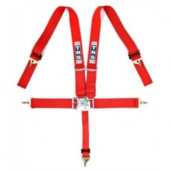 "TRS 5 Point 3"" Nascar Harness Red"