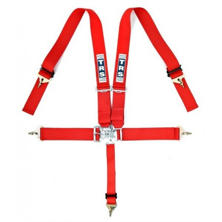 """TRS 5 Point 3"""" Nascar Harness Red"""