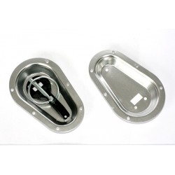 Recessed Bon Pin Plates Silver