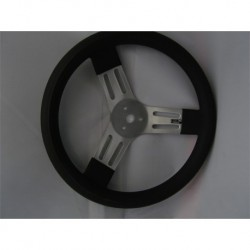 "15"" Budget Steering Wheel Black"