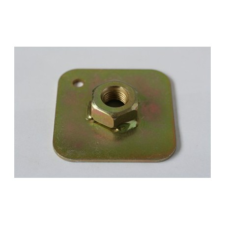 Eye Bolt Back Plate with Welded Nut